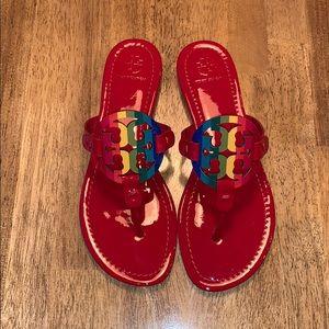 Tory Burch Miller Rainbow sandals